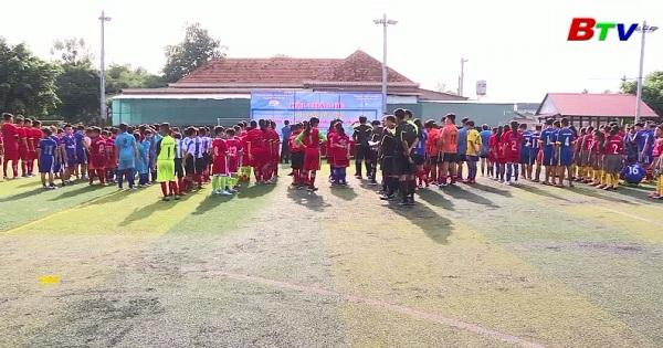 Khai mạc Giải bóng đá Mini thiếu niên nhi đồng TP Thủ Dầu Một năm 2018