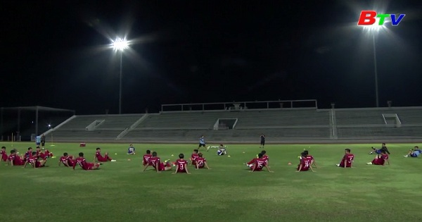 Đội tuyển Việt Nam trước trận gặp Thái Lan