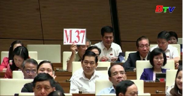 Phó Thủ tướng giải trình thêm các vấn đề đại biểu Quốc hội quan tâm