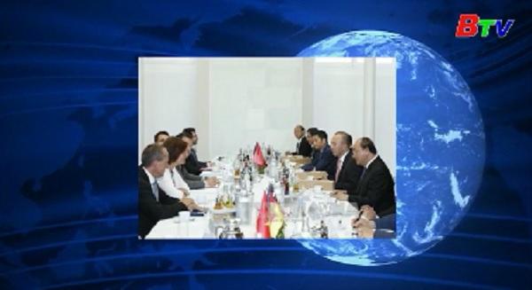 Thủ tướng Nguyễn Xuân Phúc gặp gỡ, làm việc với bang Hessen, Đức