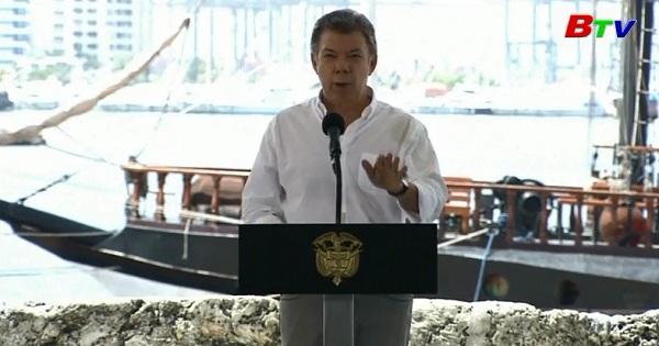 Colombia tiến hành trục vớt thuyền buồm San Jose  bị chìm cách đây hơn 300 năm