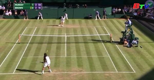 Andy Murray vào vòng 3 giải quần vợt Wimbledon 2017
