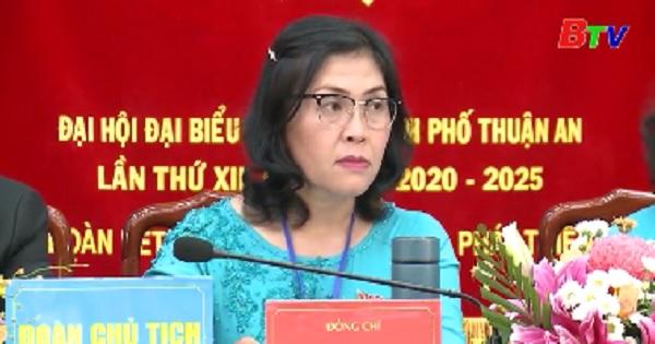 Bế mạc Đại hội đại biểu Đảng bộ thành phố Thuận An