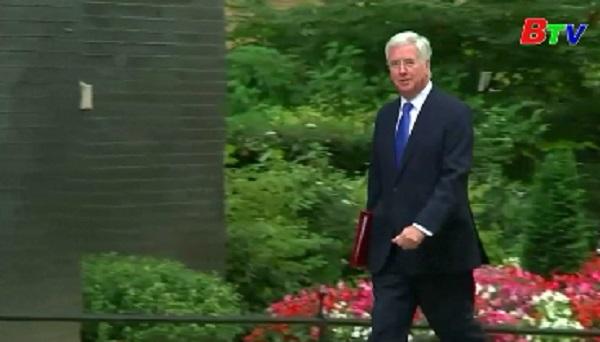 Thủ tướng Anh bổ nhiệm tân bộ trưởng quốc phòng