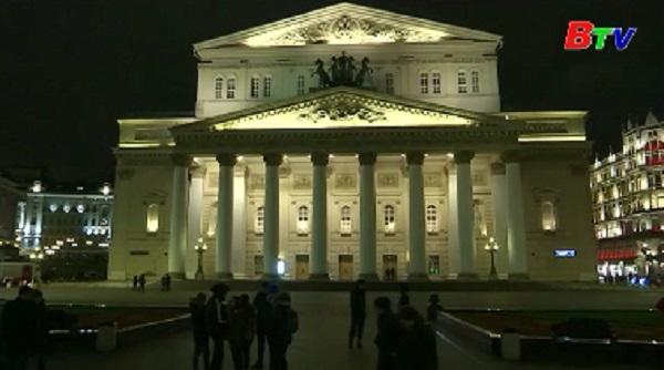 Nhà hát Bolshoi sơ tán vì đe dọa đánh bom