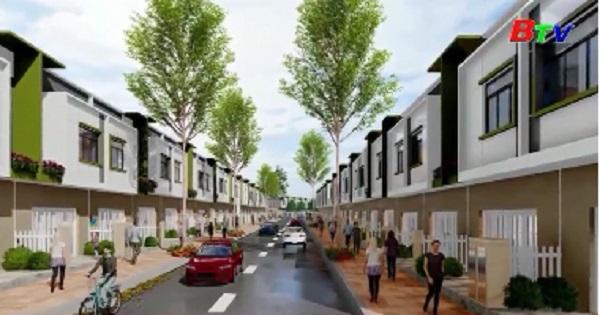 Dự án nhà ở Ecohome2 khu đô thi Ecolakes Mỹ Phước