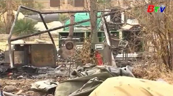 Bệnh viện dã chiến của Nga ở Aleppo bị pháo kích