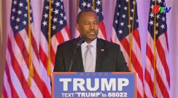 Ông Trump để cử chính khách gốc Phi đầu tiên vào nội các