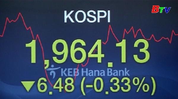 Thị trường chứng khoán Châu Á giảm điểm