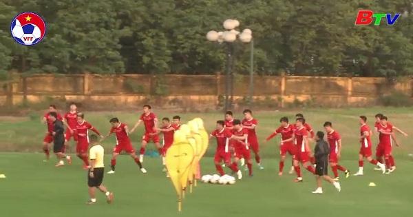Tuyển Việt Nam trước trận bán kết lượt về AFF Cup 2018
