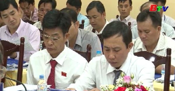 Kỳ họp thứ 7 HĐND huyện Phú Giáo khóa IV, nhiệm kỳ 2016-2021