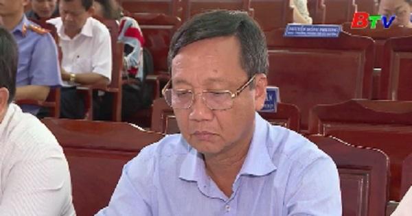 Hội nghị Ban Chấp hành Đảng bộ huyện Dầu Tiếng