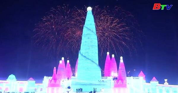 Khai mạc lễ hội băng tuyết tại thành phố Cáp Nhĩ Tân