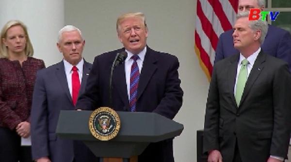 Trump dọa đóng cửa chính phủ trong vài năm