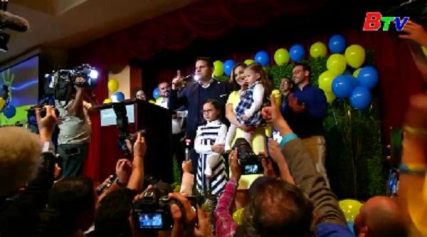 Hai ca sỹ chạy đua tại vòng 2 bầu cử Tổng thống Costa Rica