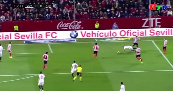 Vòng 25 Laliga- Sevilla 1-0 Athletic Bilbao