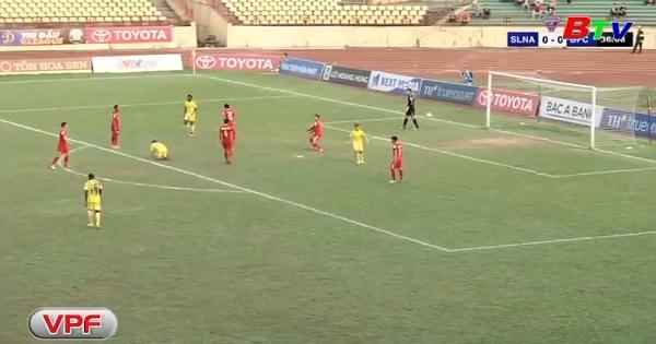 Vòng 8 Toyota V.League 2017 - Sông Lam Nghệ An 1-1 Becamex Bình Dương