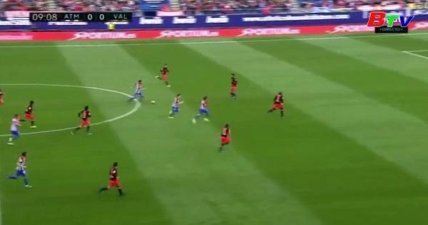 Vòng 26 La Liga- Atletico Madrid 3-0 Valencia