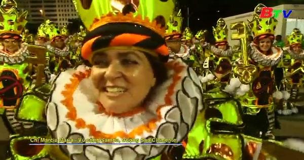 Lễ hội Carnival Rio de Janeiro - Cuộc diễu hành của các trường Samba