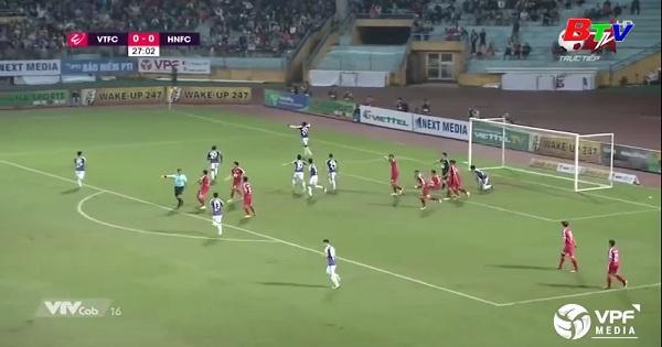 Vòng 3 V.League 2019 - Viettel 0-2 Hà Nội FC