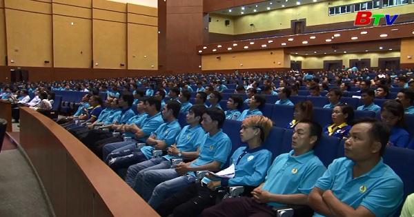 Sôi nổi tháng công nhân và tuần lễ thanh niên công nhân 2017