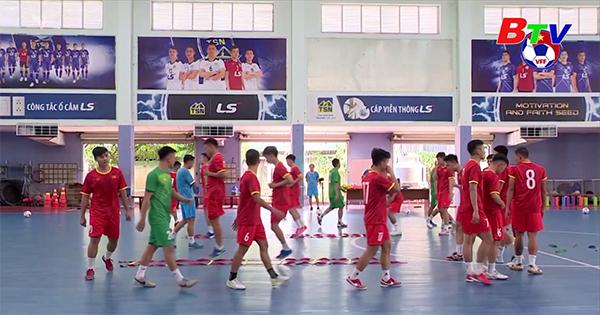 Đội tuyển Futsal Việt Nam hướng đến vòng Play-off tranh vé dự FIFA Futsal World Cup 2021