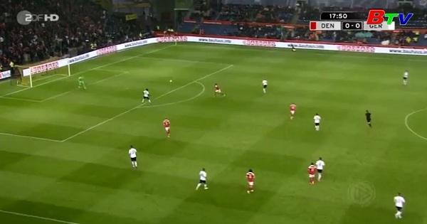 Giao hữu quốc tế- Đan Mạch 1-1 Đức
