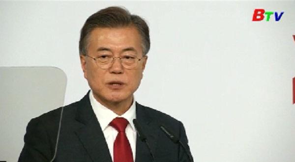 Tổng thống Hàn Quốc công bố