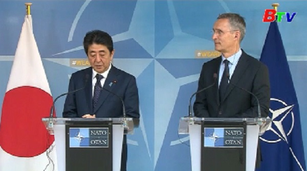 NATO tăng cường hợp tác với Nhật Bản