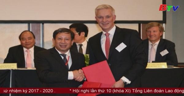 Thủ tướng Nguyễn Xuân Phúc dự diễn đàn doanh nghiệp Viêt - Đức