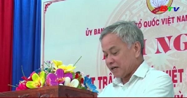 Hội nghị Ủy ban Mặt trận Tổ quốc Việt Nam huyện Phú Giáo lần III