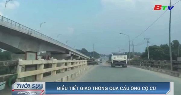 Điều tiết giao thông qua cầu Ông Cộ cũ