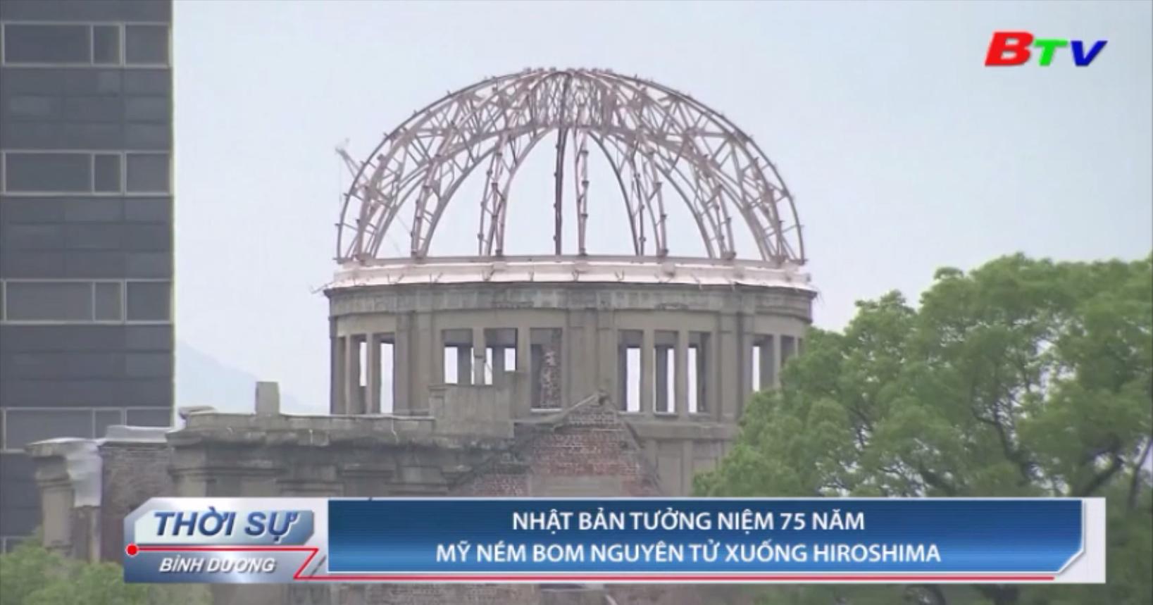 Nhật Bản tưởng niệm 75 năm Mỹ ném bom nguyên tử xuống Hiroshima