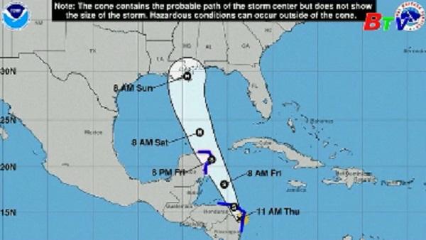 Mỹ chuẩn bị đối phó với cơn bão Nate