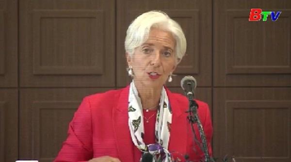 IMF quan ngại đà phục hồi kinh tế toàn cầu