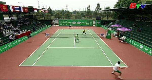 Ngày thi đấu chính thức thứ 2 Giải quần vợt Men's Future Thành phố mới Bình Dương – Cúp Becamex IDC 2017