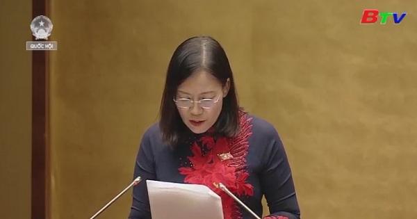 Giải trình, tiếp thu ý kiến đại biểu quốc hội về Dự thảo luật Đặc xá (sửa đổi)