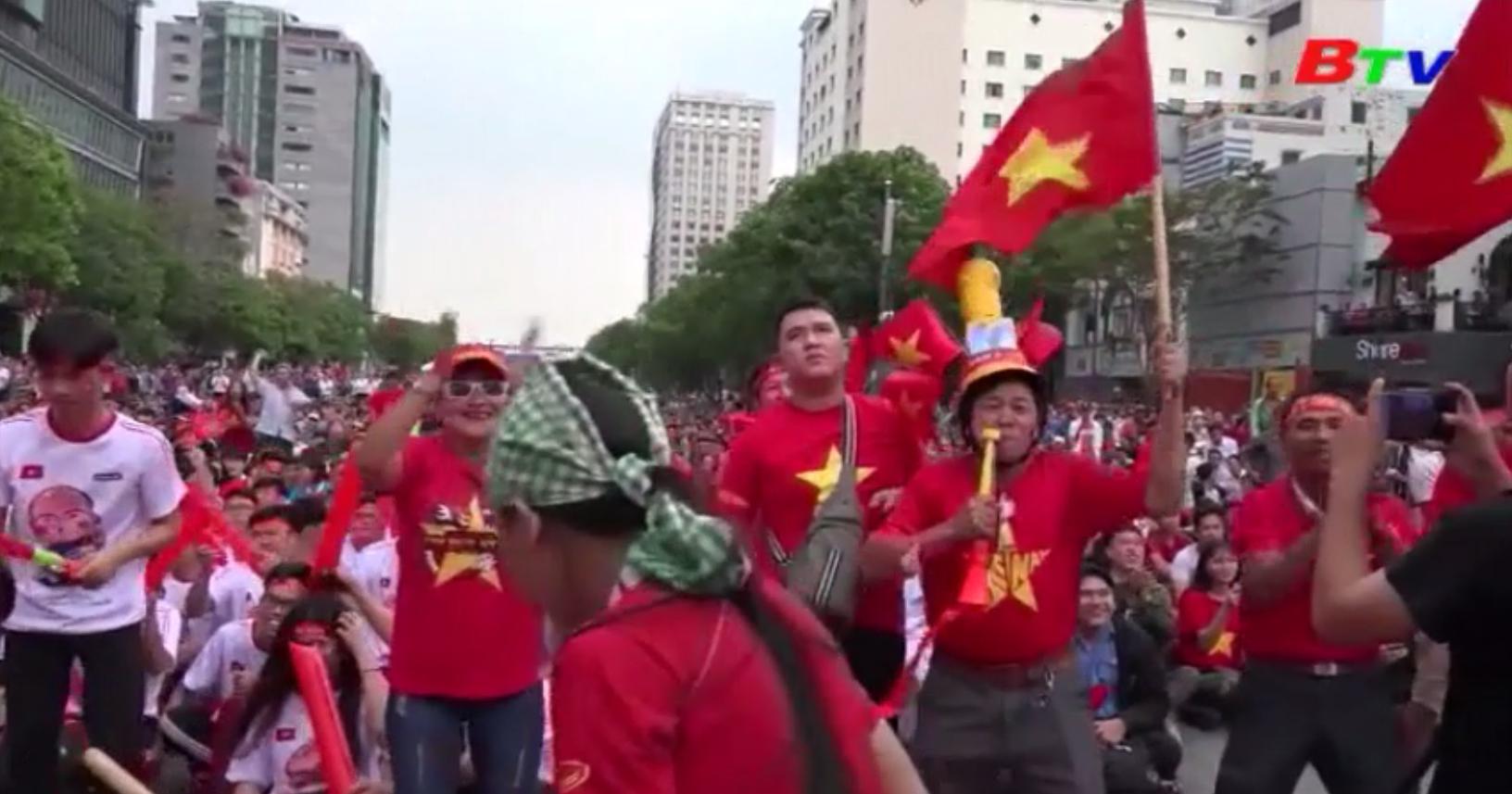 U22 Việt Nam không phụ lòng người hâm mộ