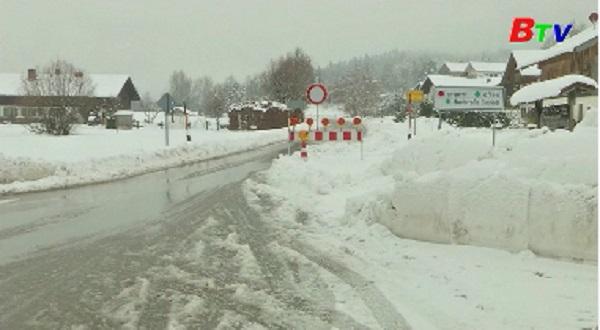 Đức tuyên bố tình trạng khẩn cấp ở miền Nam do bão tuyết