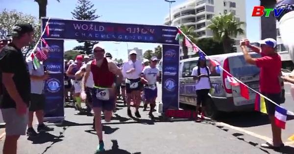 Cuộc chạy đua Marathon ở Nam Cực