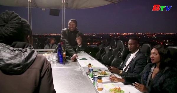 Bữa ăn tối trên không trung có mặt tại Nam Phi