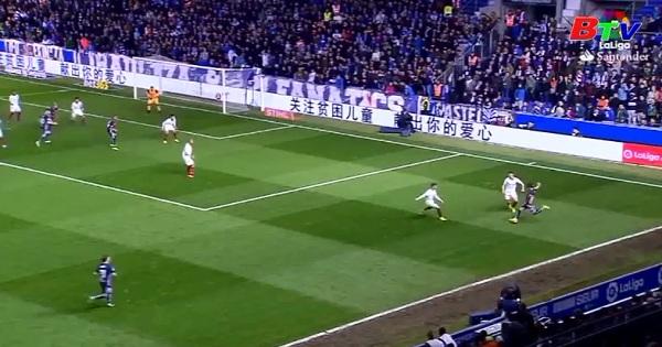 Vòng 26 La Liga: Alaves 1-1 Sevilla