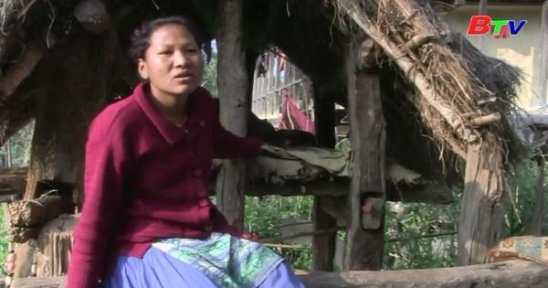 Phụ nữ Nepal với hủ tục bị cô lập trong ngày đèn đỏ