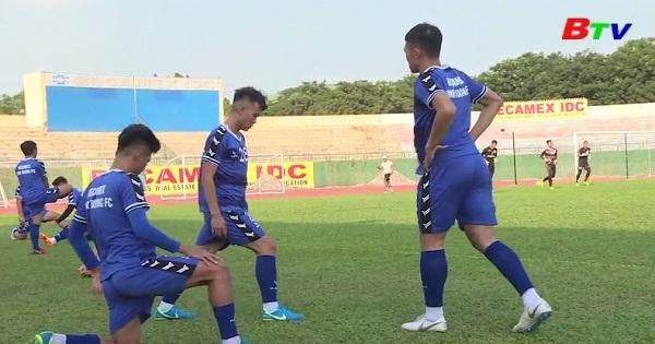 Becamex Bình Dương chuẩn bị cho Vòng 4 V-League 2019