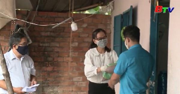 Tp.Thủ Dầu Một vận động giúp đỡ các hoàn cảnh khó khăn do ảnh hưởng từ dịch COVID-19