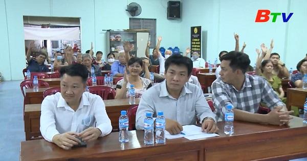Hội nghị cử tri khu phố 12 phường Chánh Nghĩa