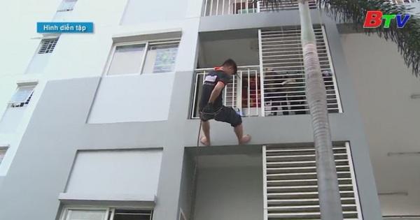 Cư dân chung cư cao tầng cần tự trang bị kỹ năng