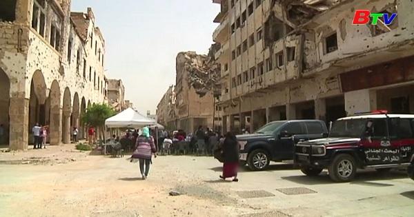 Triển lãm sách ở thành phố Benghazi