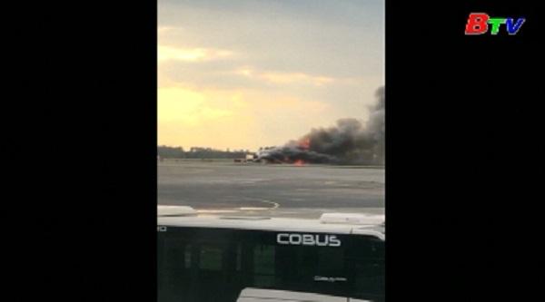 Cháy máy bay tại Nga - Tập trung điều tra theo hướng lỗi của phi công