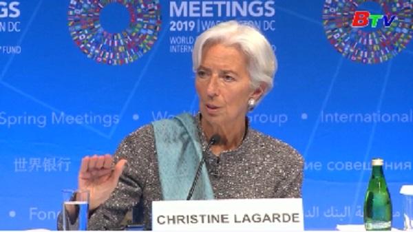 IMF - Căng thẳng thương mại Mỹ-Trung đe dọa kinh tế thế giới